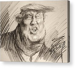 Donald Trump Acrylic Prints