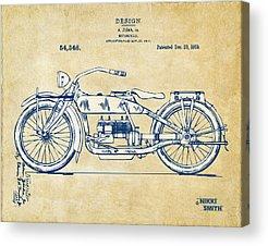 Motorcycle Acrylic Prints