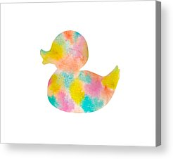 Rubber Duck Acrylic Prints
