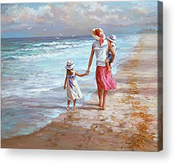 Mother And Child Acrylic Prints