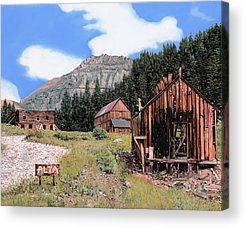 Ghost Town Acrylic Prints