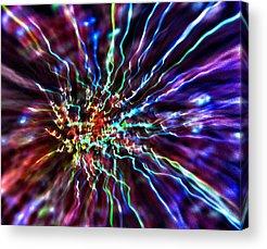 Center Glow Acrylic Prints