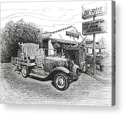 Leipers Fork Drawings Acrylic Prints