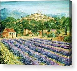 Southern France Acrylic Prints