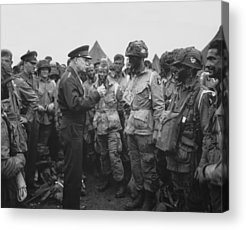 General Dwight D Eisenhower Acrylic Prints