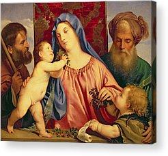 Child Jesus Photographs Acrylic Prints