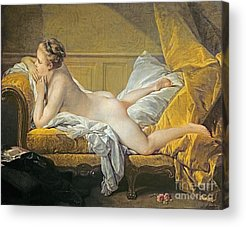 Chaise-lounge Acrylic Prints