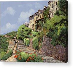 Provence Landscape Acrylic Prints