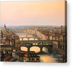 Scenic Paintings Acrylic Prints