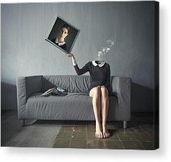 Self Portrait Acrylic Prints