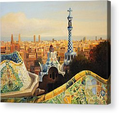 Barcelona Acrylic Prints