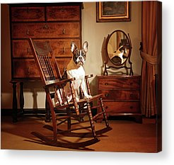Rocking Chair Acrylic Prints