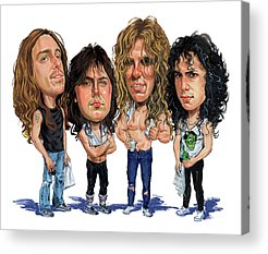 Metallica Acrylic Prints
