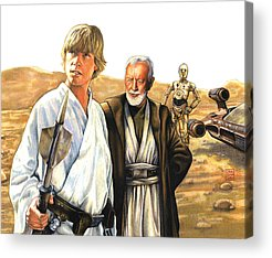 Star Wars Episode Acrylic Prints