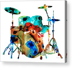 Drum Acrylic Prints