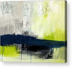 Blue And Green Acrylic Prints