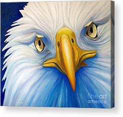 Eagle Paintings Acrylic Prints
