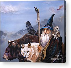 Wizard Acrylic Prints