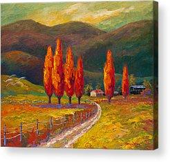 Italian Landscape Acrylic Prints