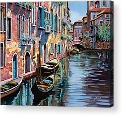 Canal Acrylic Prints