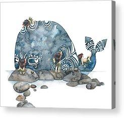 Dibujo Acrylic Prints