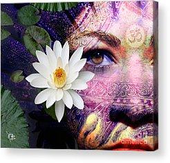 Goddess Of Love Acrylic Prints