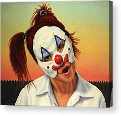 Clown Acrylic Prints