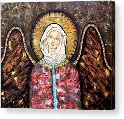 Christian . Devotional Paintings Acrylic Prints