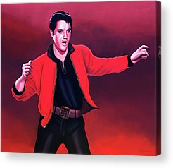 Designs Similar to Elvis Presley 4 Painting