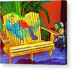 Margaritaville Acrylic Prints