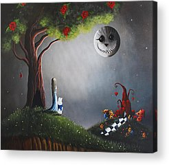 Tim Paintings Acrylic Prints