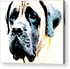 Mastiff Acrylic Prints