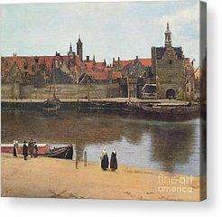 Johannes Vermeer Acrylic Prints