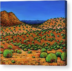Landscape work Paintings Acrylic Prints