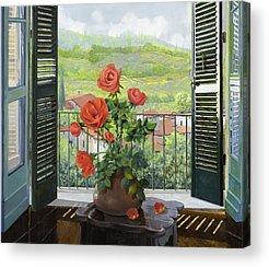 Vase Paintings Acrylic Prints
