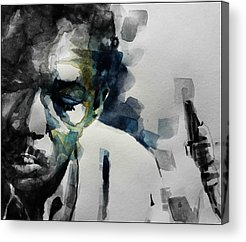 John Coltrane Acrylic Prints