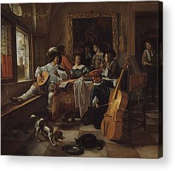 Designs Similar to The Family Concert by Jan Steen