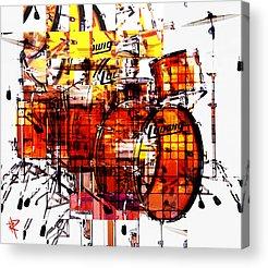 Snare Drum Acrylic Prints