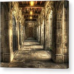 Walkway Acrylic Prints