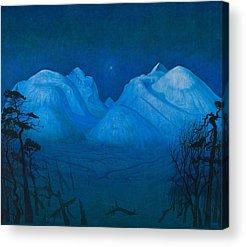 Berge Acrylic Prints