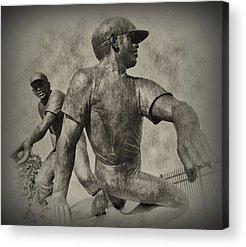 Pennsylvania Baseball Parks Digital Art Acrylic Prints