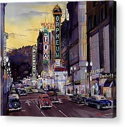 Mike Hill Acrylic Prints