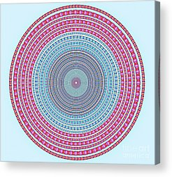 Circle Acrylic Prints