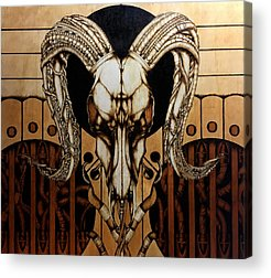 Pyrography Acrylic Prints