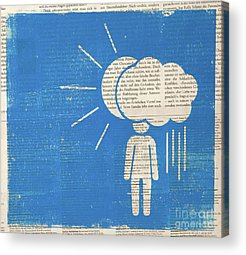 Bipolar Mixed Media Acrylic Prints