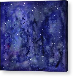 Constellations Mixed Media Acrylic Prints