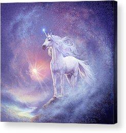 Unicorn Acrylic Prints
