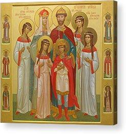 Byzantine Icon Acrylic Prints