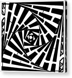 Twisting Boxed Acrylic Prints