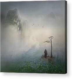 Monk Acrylic Prints